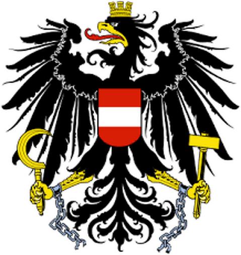 Österreichisches Staatswappen - 1984