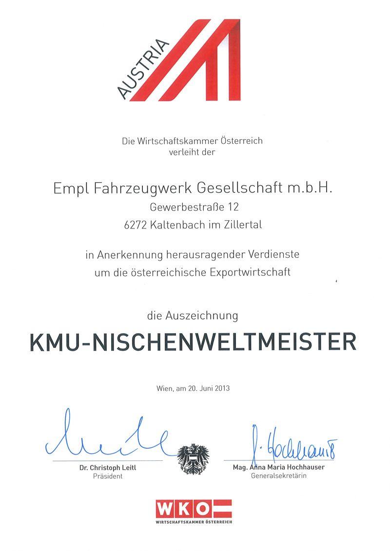 KMU-Nischenweltmeister