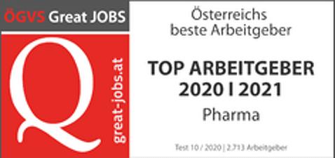 ÖGVS Great JOBS TOP ARBEITGEBER 2020/2021