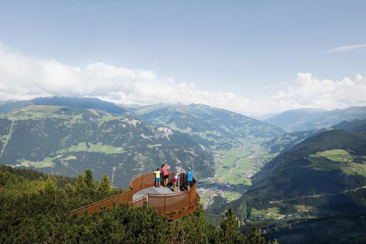 Aussichtsplattform-Adlerblick